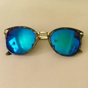 3/$10 Blue Tinted Reflective Sunglasses